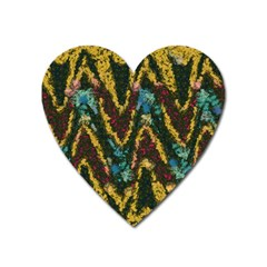 Painted waves                                                         Magnet (Heart)
