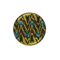 Painted waves                                                         			Hat Clip Ball Marker