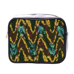 Painted waves                                                         			Mini Toiletries Bag (One Side)