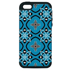 Ornamental flowers pattern                                                        Apple iPhone 5 Hardshell Case (PC+Silicone)