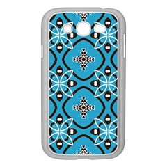 Ornamental flowers pattern                                                        			Samsung Galaxy Grand DUOS I9082 Case (White)
