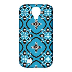 Ornamental flowers pattern                                                        Samsung Galaxy S4 Classic Hardshell Case (PC+Silicone)