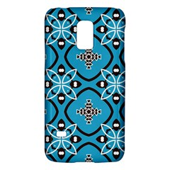 Ornamental flowers pattern                                                        			Samsung Galaxy S5 Mini Hardshell Case