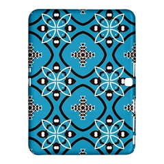 Ornamental flowers pattern                                                        			Samsung Galaxy Tab 4 (10.1 ) Hardshell Case