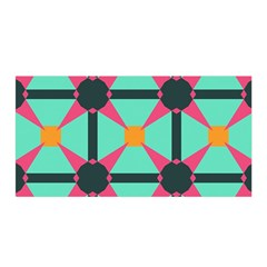 Pink stars pattern                                                          Satin Wrap