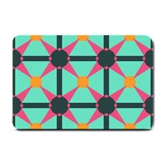 Pink stars pattern                                                          Small Doormat