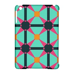 Pink stars pattern                                                         Apple iPad Mini Hardshell Case (Compatible with Smart Cover)