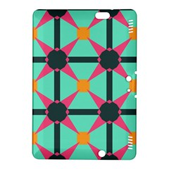 Pink Stars Pattern                                                         			kindle Fire Hdx 8 9  Hardshell Case