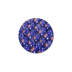 Australian Flag Urban Grunge Pattern Golf Ball Marker