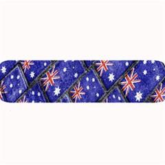 Australian Flag Urban Grunge Pattern Large Bar Mats