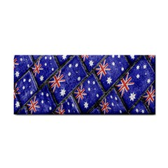 Australian Flag Urban Grunge Pattern Cosmetic Storage Cases