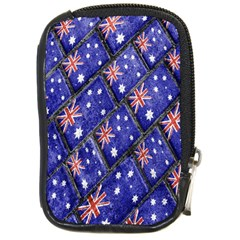 Australian Flag Urban Grunge Pattern Compact Camera Cases