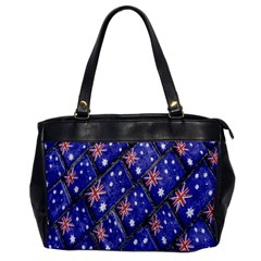 Australian Flag Urban Grunge Pattern Office Handbags