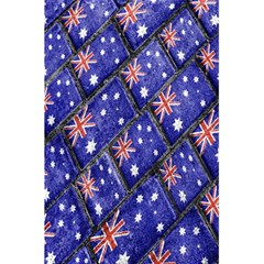 Australian Flag Urban Grunge Pattern 5.5  x 8.5  Notebooks