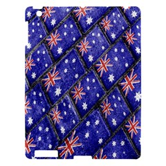 Australian Flag Urban Grunge Pattern Apple iPad 3/4 Hardshell Case