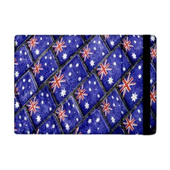 Australian Flag Urban Grunge Pattern Apple iPad Mini Flip Case