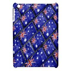 Australian Flag Urban Grunge Pattern Apple iPad Mini Hardshell Case