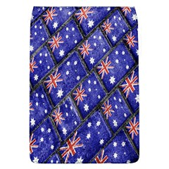 Australian Flag Urban Grunge Pattern Flap Covers (L)