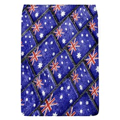 Australian Flag Urban Grunge Pattern Flap Covers (S)