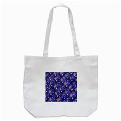 Australian Flag Urban Grunge Pattern Tote Bag (White)