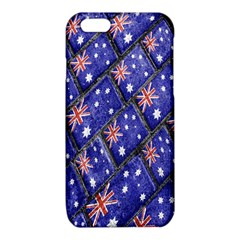 Australian Flag Urban Grunge Pattern iPhone 6/6S TPU Case