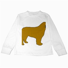 Leonberger Color Silo Kids Long Sleeve T-Shirts