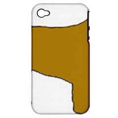 Leonberger Color Silo Apple iPhone 4/4S Hardshell Case (PC+Silicone)