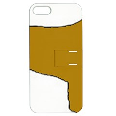 Leonberger Color Silo Apple iPhone 5 Hardshell Case with Stand
