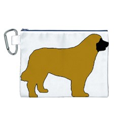 Leonberger Color Silo Canvas Cosmetic Bag (L)