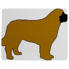 Leonberger Color Silo Jigsaw Puzzle Photo Stand (Rectangular)