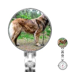 Leonberger Full Stainless Steel Nurses Watch