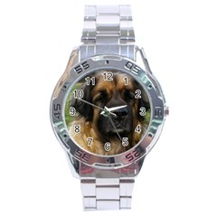 Leonberger 2 Stainless Steel Analogue Watch