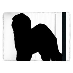Old English Sheepdog Silo Black Samsung Galaxy Tab Pro 12.2  Flip Case