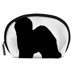 Old English Sheepdog Silo Black Accessory Pouches (Large)