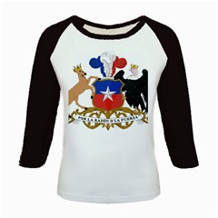 Coat of Arms of Chile Kids Baseball Jerseys