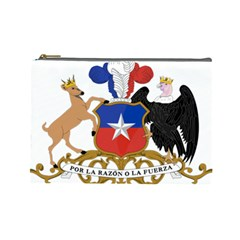 Coat of Arms of Chile Cosmetic Bag (Large)