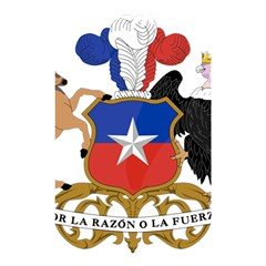 Coat of Arms of Chile Shower Curtain 48  x 72  (Small)