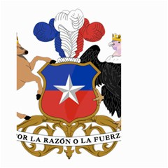 Coat of Arms of Chile Small Garden Flag (Two Sides)