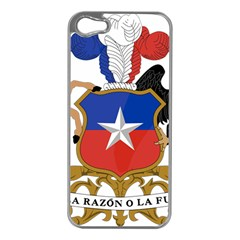 Coat of Arms of Chile Apple iPhone 5 Case (Silver)