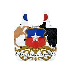 Coat of Arms of Chile Full Print Recycle Bags (S)