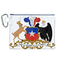 Coat of Arms of Chile Canvas Cosmetic Bag (XL)
