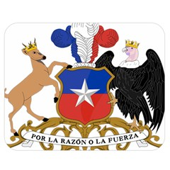 Coat of Arms of Chile Double Sided Flano Blanket (Medium)