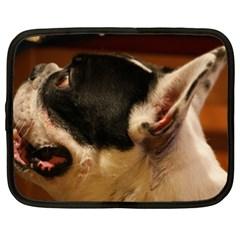 French Bulldog black white Netbook Case (XXL)