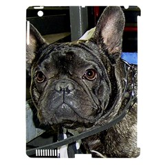 French Bulldog Brindle Apple iPad 3/4 Hardshell Case (Compatible with Smart Cover)