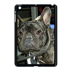 French Bulldog Brindle Apple iPad Mini Case (Black)