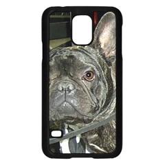 French Bulldog Brindle Samsung Galaxy S5 Case (Black)