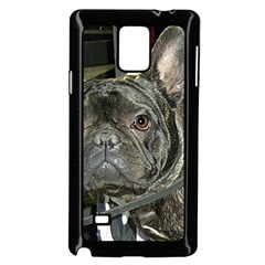 French Bulldog Brindle Samsung Galaxy Note 4 Case (Black)