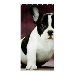 Brindle Pied French Bulldog Puppy Shower Curtain 36  x 72  (Stall)