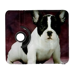 Brindle Pied French Bulldog Puppy Galaxy S3 (Flip/Folio)