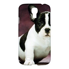 Brindle Pied French Bulldog Puppy Samsung Galaxy S4 I9500/I9505 Hardshell Case